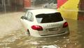 CBD 'underwater' as wild storms arrive