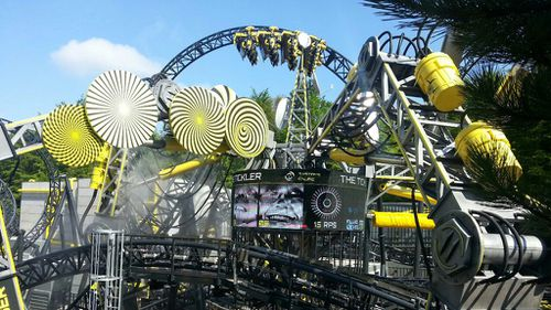 The rollercoaster was temporarily shut down in late 2013 when some plastic wheels detached and hit passengers. (Alton Towers)