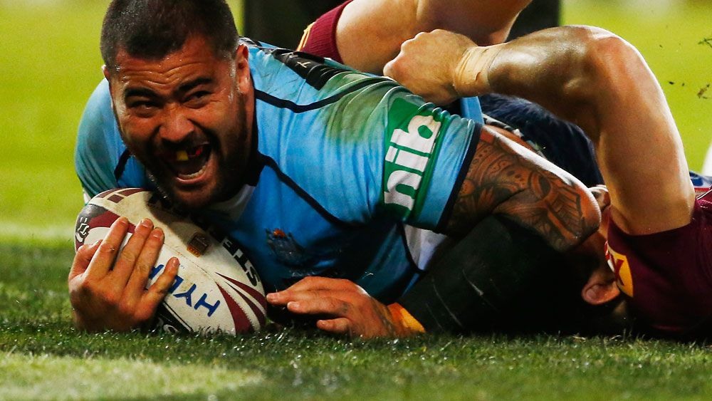 State of Origin: NSW Blues prop Andrew Fifita humbled by man of the match honour