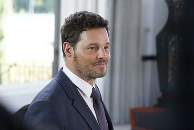 Justin Chambers on Grey's Anatomy.
