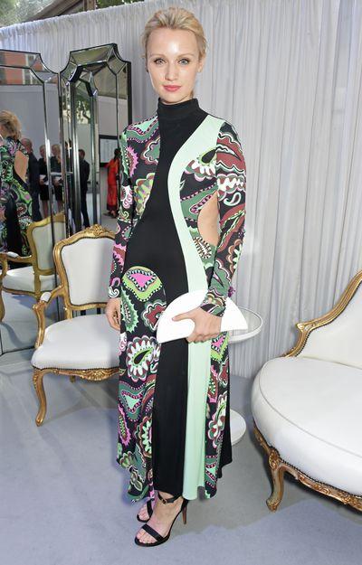 Emily Berrington in Whistles at the Glamour UK Awards, 2017.