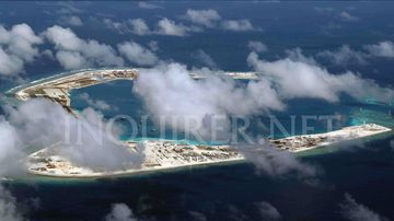 China has transformed reefs into island fortresses in the disputed South China Sea (The Inquirer.net)