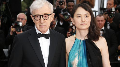 Allen and his wife - who is his former step-daughter - Soon-Yi Previn. (AAP)