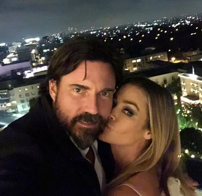 Denise Richards and Aaron Phypers.