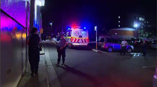 An off-duty emergency department nurse rushed to his aid before he was taken to hospital, where he today underwent two bouts of hospital. Picture: 9NEWS.