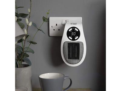Russell Hobbs Ceramic Plug Heater — Amazon