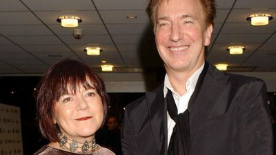 Rickman met his wife Rima Horton, a politician and an economics lecturer, in 1965 but they only married in 2012.