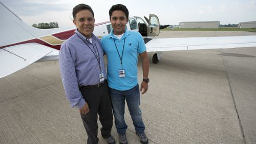 Teen pilot and father die in round-the-world flight for charity