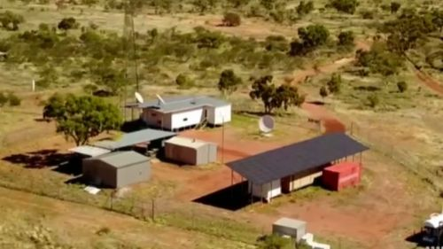 The monitoring station is located in the central Northern Territory. (9NEWS)