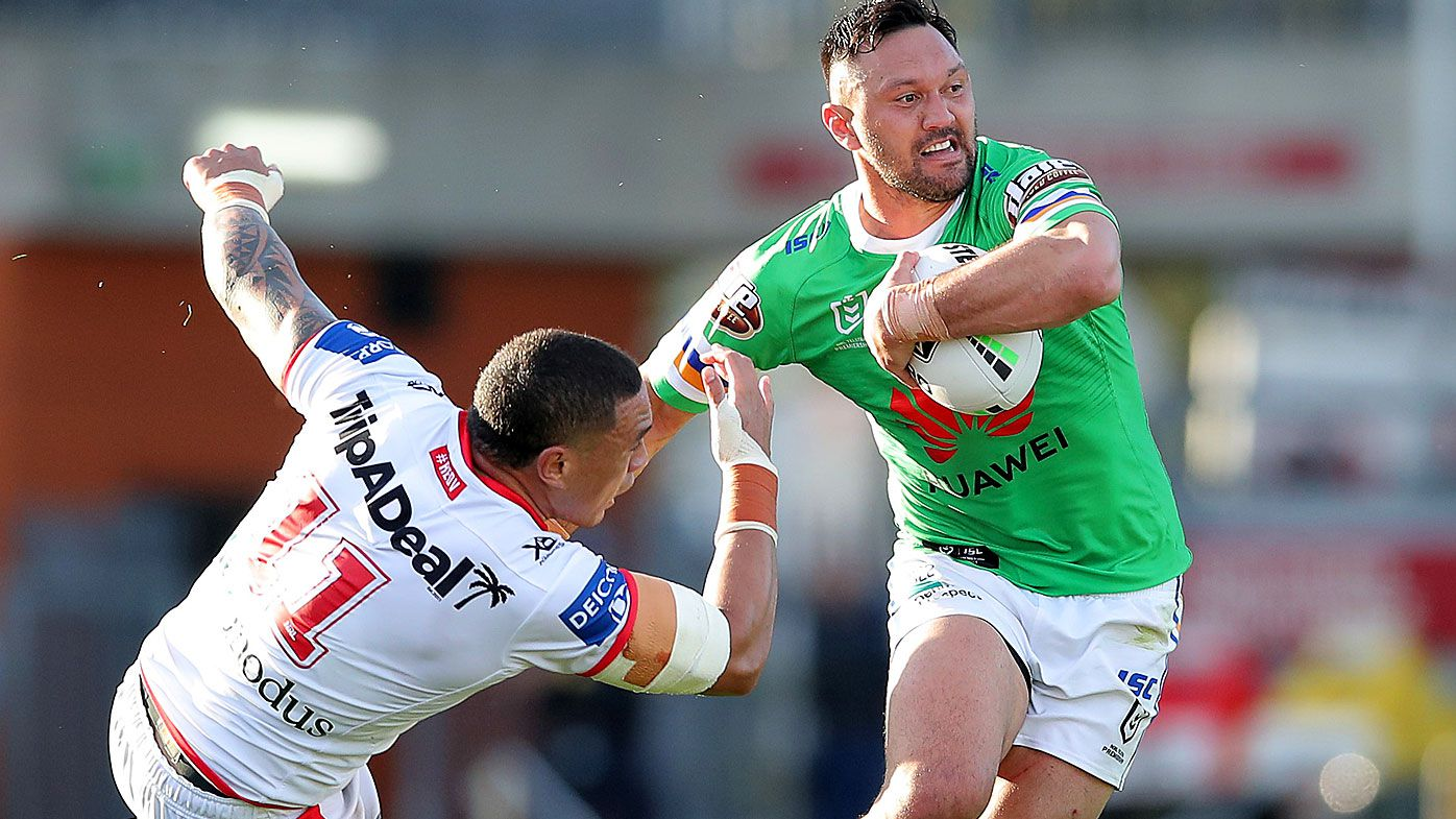 Canberra Raiders sound warning to NRL rivals with dominant win over Dragons