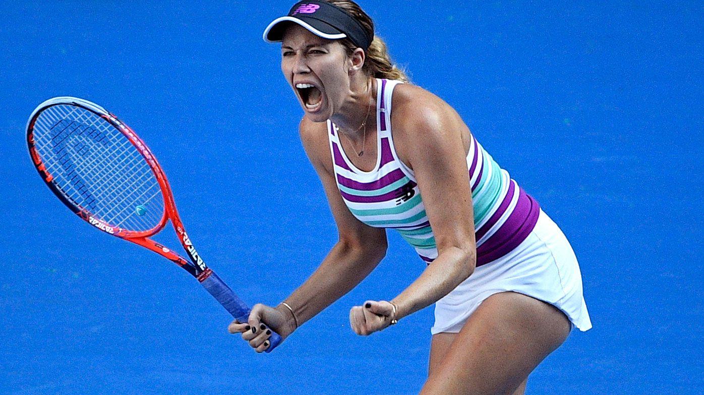 Australian Open: Danielle Collins through to semi-finals after shocking Anastasia Pavlyuchenkova