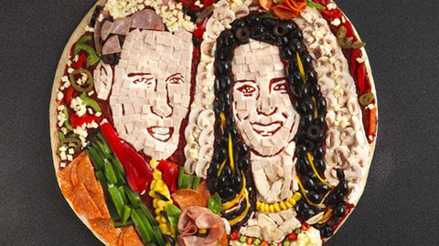 Wills and Kate pizza