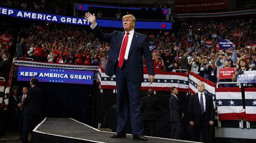 190619 Donald Trump 2002 US election campaign launch Orlando Florida new 2