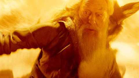 Doctor Who meets Dumbledore in Christmas special