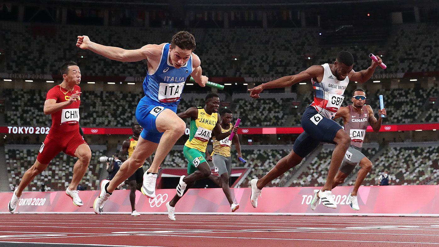 Tokyo Olympics men's 4 x 100m final