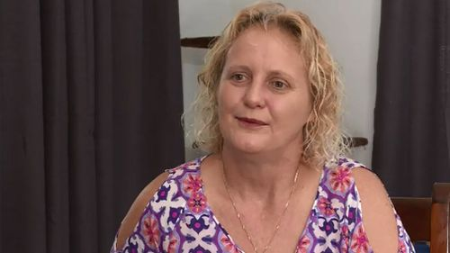 """Karne Bolck got a phone call to say her mother had been """"swapped"""" out of the expensive coffin she paid for. (9NEWS)"""