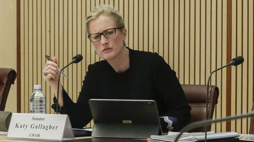 Labor senator Katy Gallagher grilled Richard Colbeck on the government's response to coronavirus in aged care facilities.
