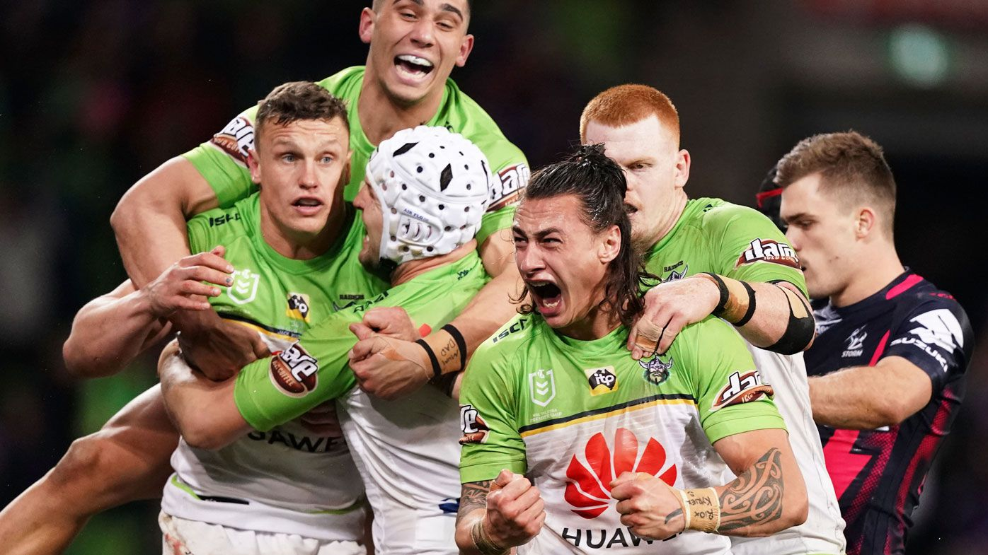 Canberra Raiders topple Melbourne Storm at AAMI Park