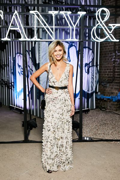 Model Sarah Ellen at the Tiffany & Co. HardWare launch, Carriageworks, Sydney.