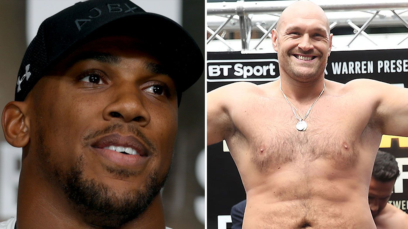 Anthony Joshua slams Tyson Fury's training regime ahead of potential bout