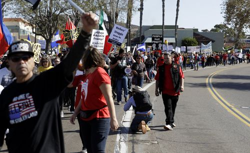 Thousands more migrants are expected to reach the San Diego, Tijuana border in the coming days.
