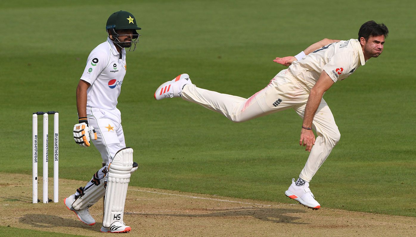 Fast bowler James Anderson in sight of incredible milestone as England dominates second Test