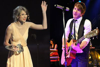 """Taylor's 2010 album <i>Speak Now</i> featured a song called 'Enchanted' about meeting a guy she was absolutely besotted with. It turned out to be Adam Young from the band Owl City, who had used the words """"enchanted"""" and """"wonderstruck"""" in an email to Taylor. """"So when that word was in the song, I was like, this song has to be about me,"""" Adam told <i>Us Weekly</i>.<br/><br/>But it don't go very far. Adam said that """"she's a superstar and I'm just this kid from a small town in the middle of nowhere, so I feel like that peasant in the midst of a princess and that whole classic story. But who knows? There's no telling""""."""