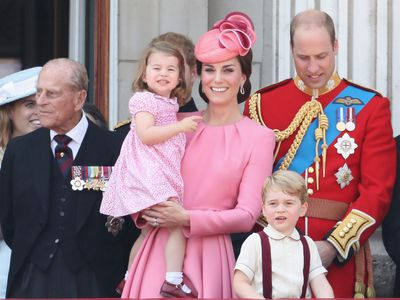 Trooping the Colour: Kate and Charlotte's mother-daughter look