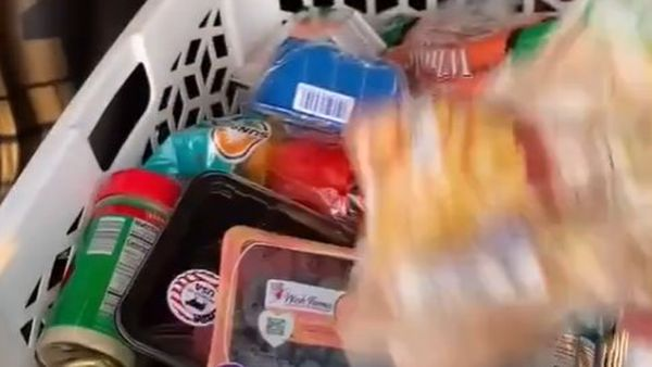 One of the tips is to place your supermarket goods into two plastic laundry baskets rather than packing into bags after shopping.