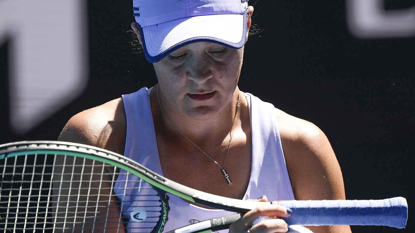 EXCLUSIVE: Greats saw Ash Barty's old weakness reappear in Open loss, post-layoff