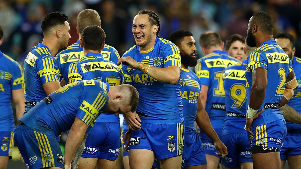 Eels eyeing NRL finals after 22-6 upset win over Storm
