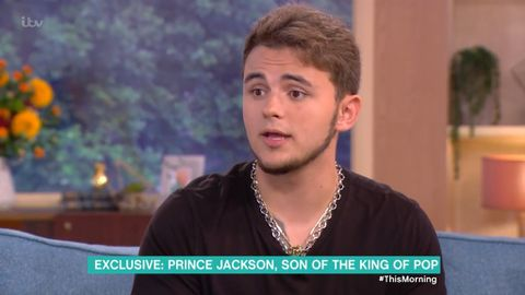 Prince Jackson interview on UK's This Morning show