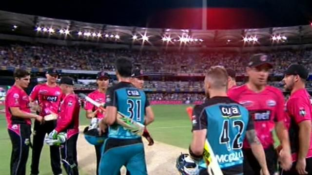 Sixers win BBL semi final