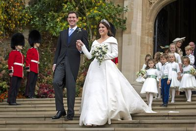Princess Eugenie of York and Jack Brooksbank, October 12 2018