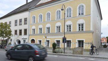The home where Adolf Hitler was born. (AP)