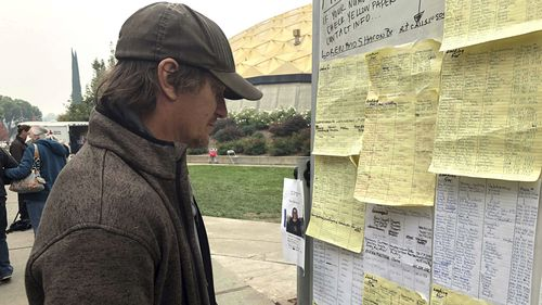 Many local residents still searching for loved ones are not sure whether they fled the devastating fires, or hesitated too long and were caught in the inferno.