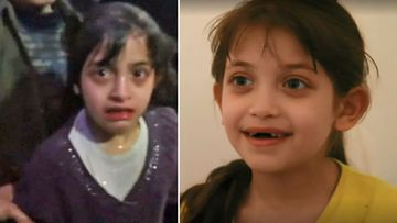 Young girl relives surviving deadly 'chemical attack' on Syrian city