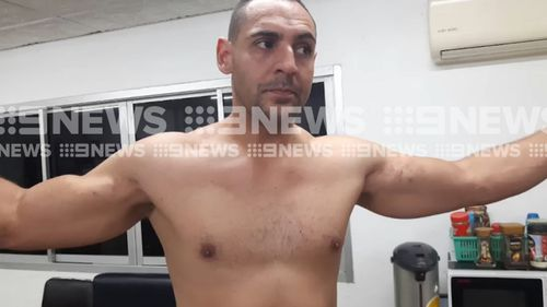US man Jose Manuel Polanco Junior is accused of attacking the Australian man. (9NEWS)
