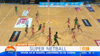 Netball: Fast starting NSW Swifts hold off Sunshine Coast Lightning