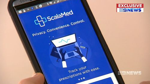 Australians will be able to receive prescriptions for medicines from their doctor to their mobile. Picture: 9NEWS