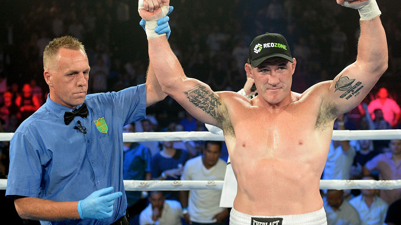 Paul Gallen calls out Sonny Bill Williams after defeating John Hopoate