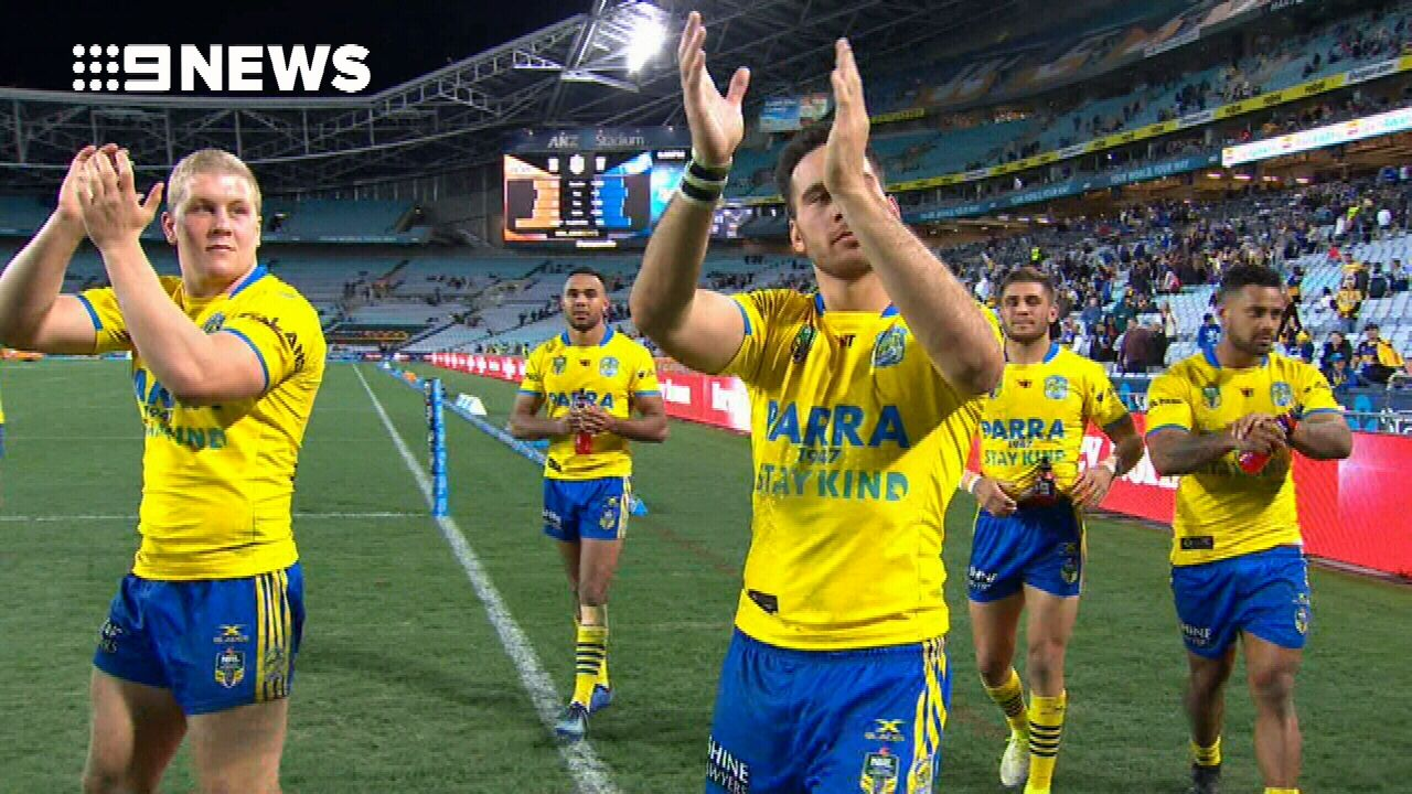 Norman sets up Eels' win with wobbly field goal