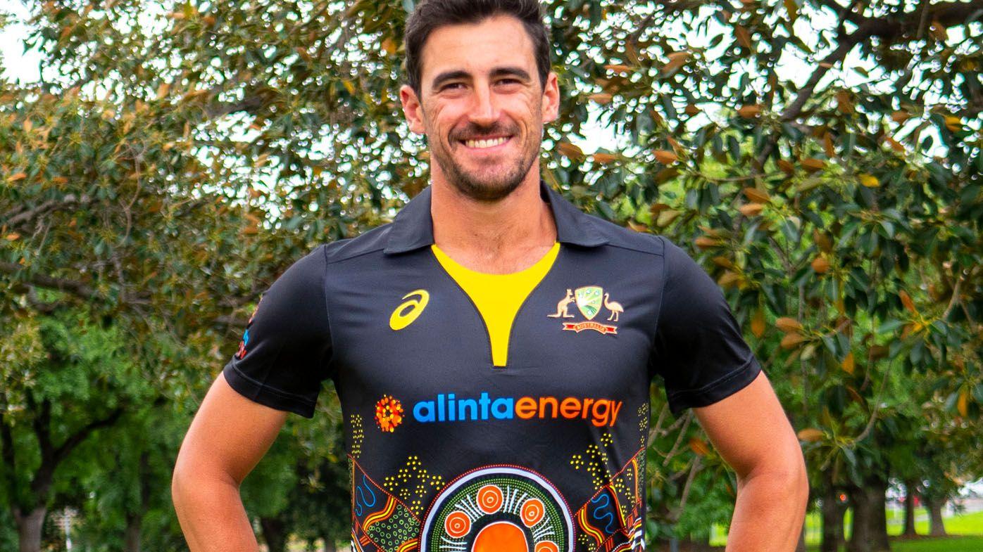 Australian men's cricket team reveal first ever Indigenous kit
