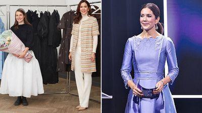 Princess Mary presents fashion award, November 2020