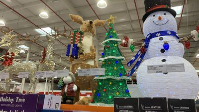 Giant Christmas decorations