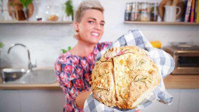 Jane de Graaff cooks easy, flavoured, decorated no-kead soda bread