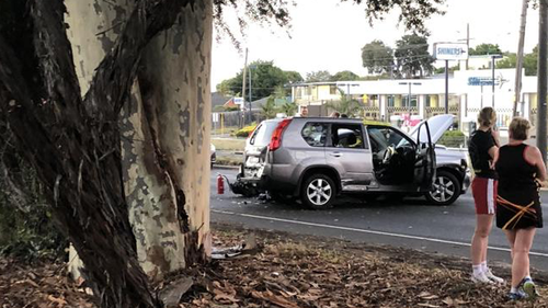 Police are now searching for a gold Volkswagen Golf. (9NEWS)