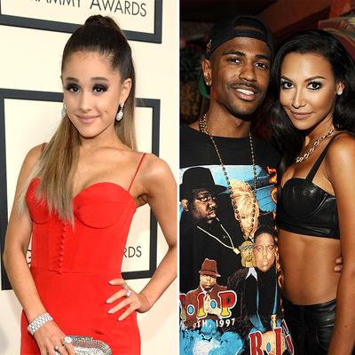 Ariana Grande, Big Sean and Naya Rivera