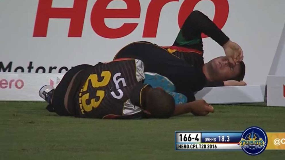 Head clash mars Caribbean T20 tie