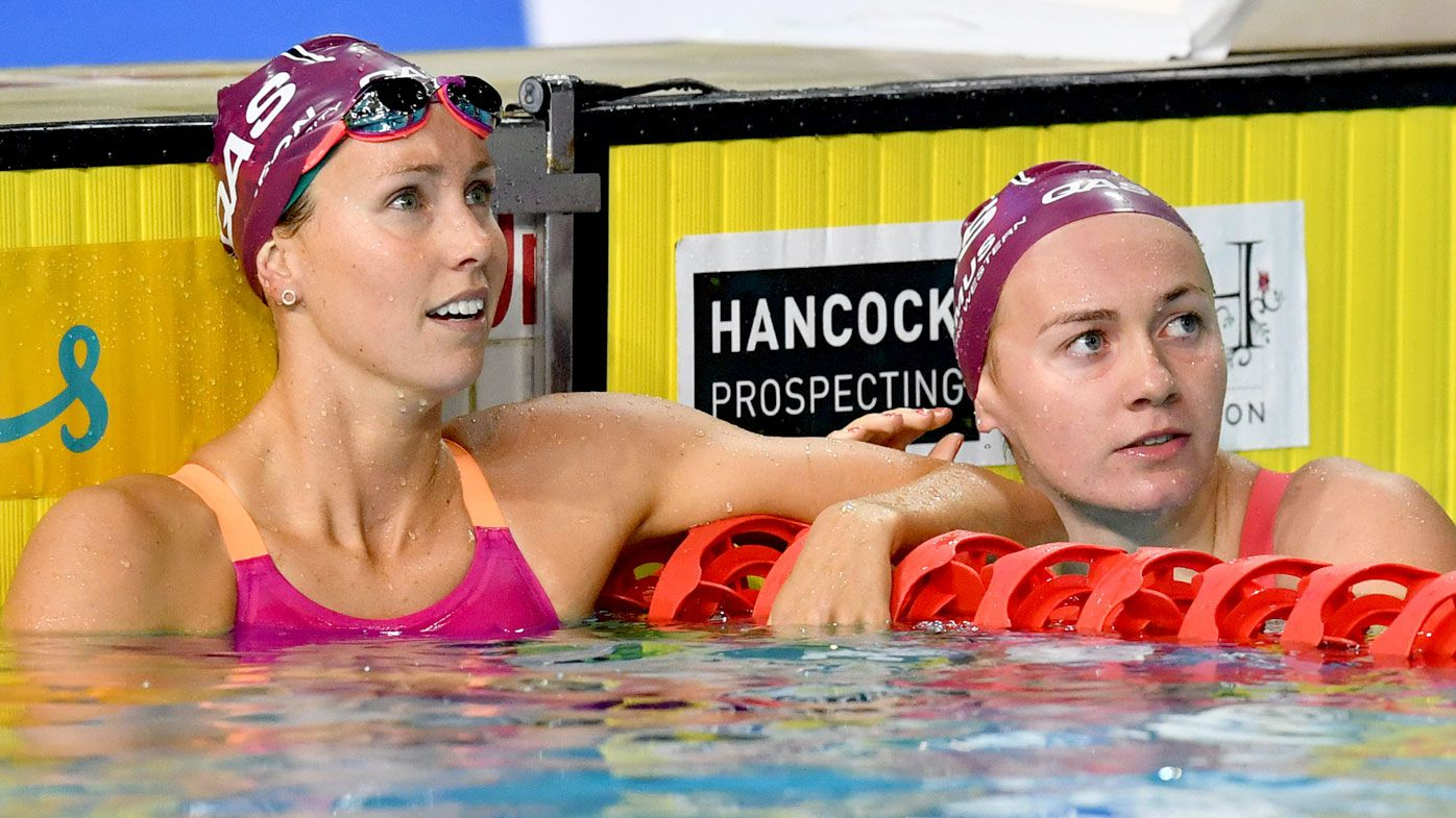 "Terminator Ariarne ""Arnie"" Titmus takes out Emma McKeon at Commonwealth Games swim trials"